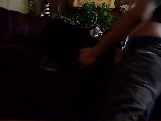 Guy Fucking His Female Rott (2)