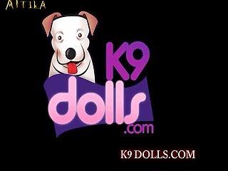 K9 Dolls Zaina Red Carpet And Claret